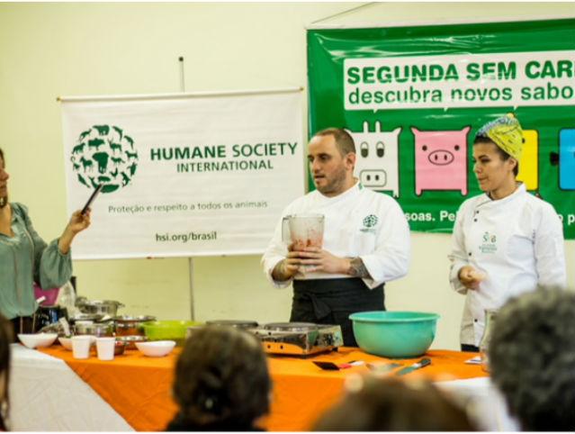 Segunda Sem Carne na Secretaria de Assistência e Desenvolvimento Social de São Paulo